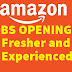 Urgent Requirement in Amazon for Experienced Software