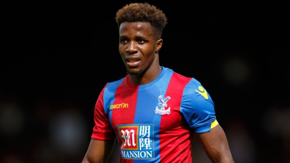 Wilfried Zaha will look to haunt his former club this weekend.