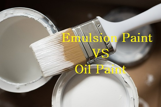 Emulsion Paint Vs Oil Based Paint - Difference Between Emulsion Paint and Oil Paint