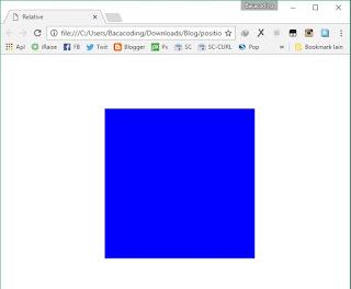 Cara Memposisikan Website menjadi Relative
