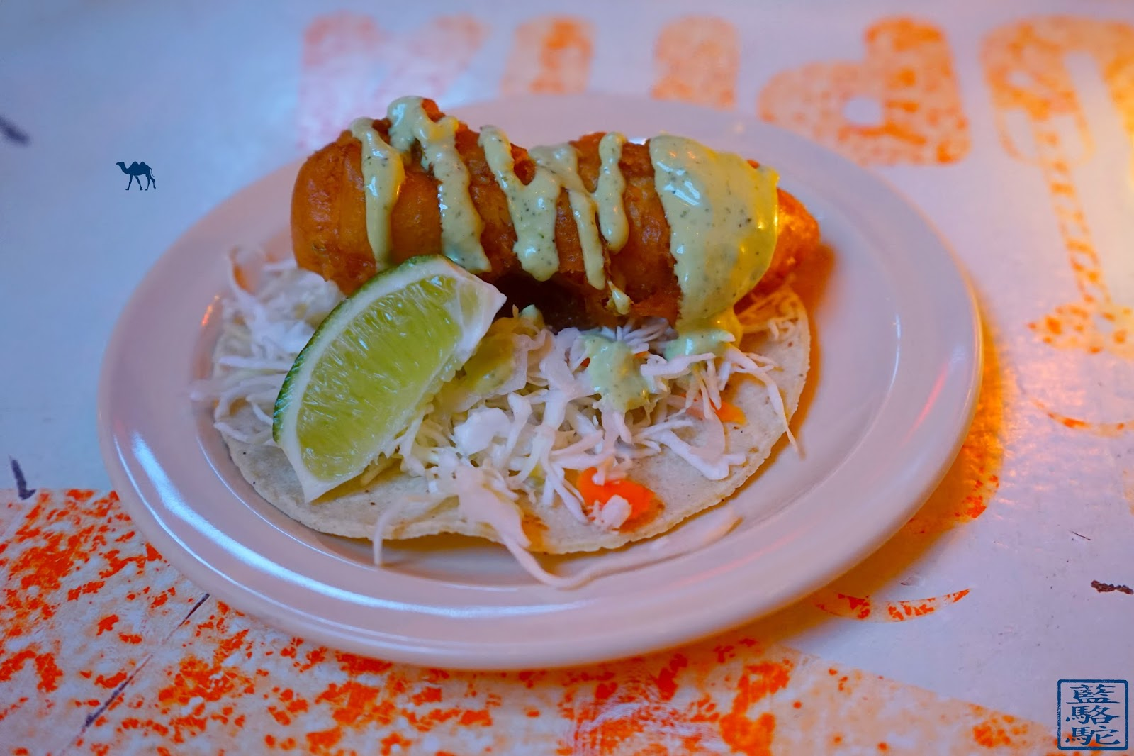 Le Chameau Bleu - Tacombi - Crispy Fish Tacos