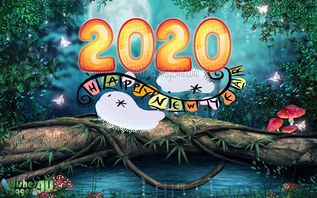 Happy New year 2020 Nature HD Images Download Free