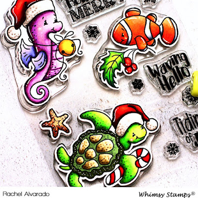 Christmas Tidings Clear Stamp Set