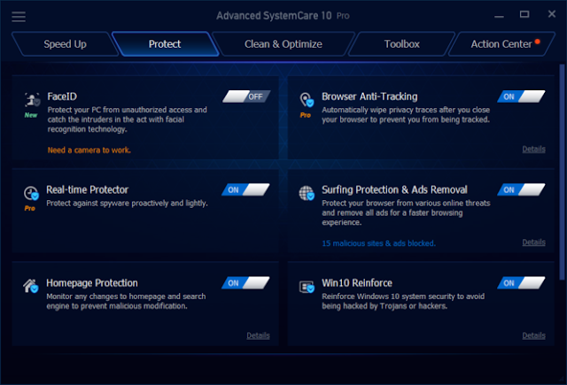 Advanced SystemCare Pro v12.5. Full SN