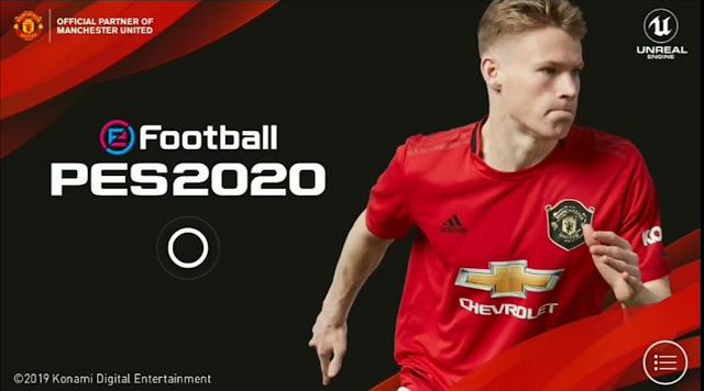 Game Sepak Bola keren! Efootball Pess 2020 Untuk Android