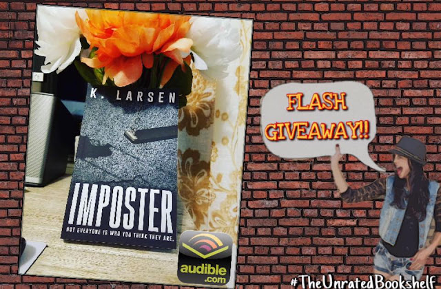 [Giveaway!] IMPOSTER by K Larsen @klarsen_author