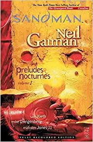 THE SANDMAN  GRAPHIC NOVEL BY NEIL GAIMAN