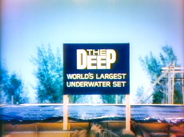 The world's Biggest Underwater Set at Ireland Island South, Bermuda, in 1976