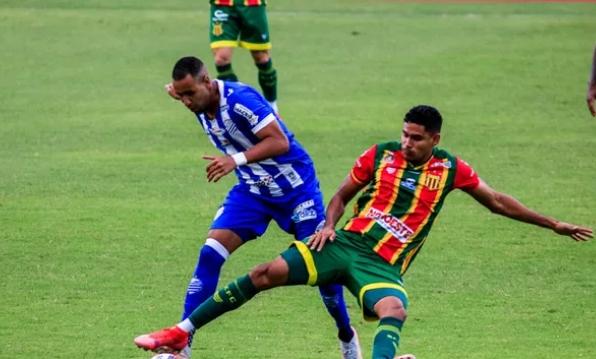 Série B: CSA e Sampaio empatam sem gols no Rei Pelé