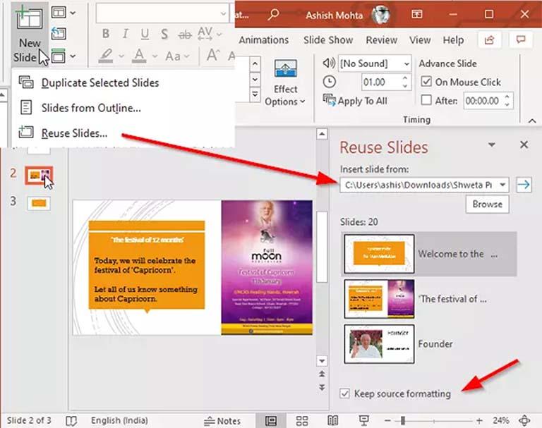 Cara Menggabungkan Beberapa File Presentasi Office Powerpoint
