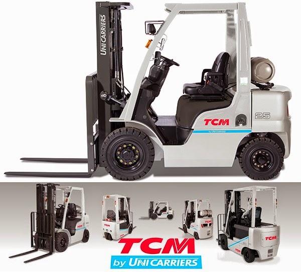 xe nang TCM Unicarriers