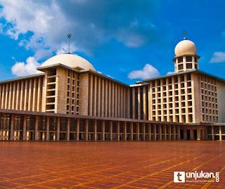 masjid istiqlal jakarta Inilah 5 masjid termegah dan terbesar di Indonesia