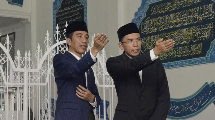 Di Masjid Istiqlal, TGB Blak-blakan Alasan Dirinya Dukung Jokowi