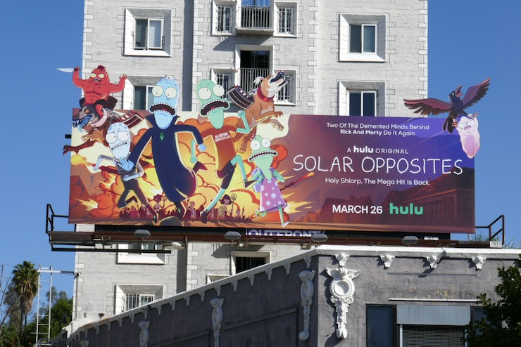 Solar Opposites season 2 billboard