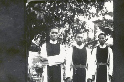 Foto Lawas Misionaris Katolik di Jawa