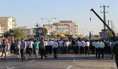 Golestan public hanging, Iran, 20 SEPT 2017