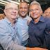 Prefeito Dinha declara apoio a candidatura de Zé Ronaldo ao governo do estado