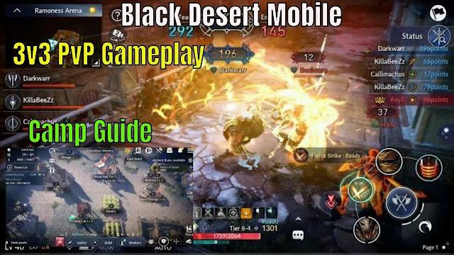 3 Cara Selalu Menang di PvP Arena Black Desert Mobile (BDM) 2020 Terbaru
