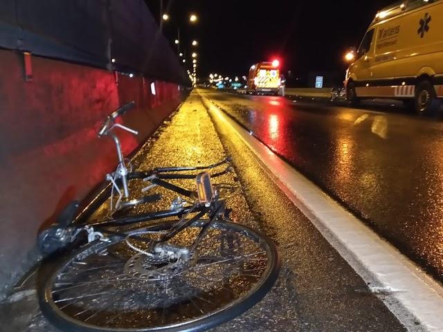Ciclista morre atropelado por caminhão na BR-116, em Colombo