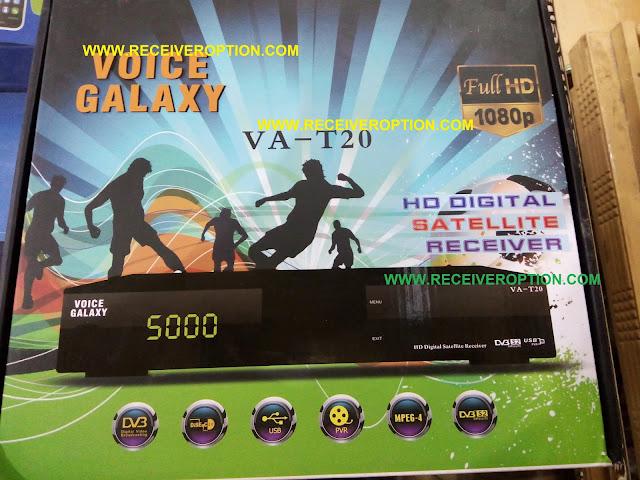 VOICE GALAXY VA-T20 HD RECEIVER DUMP FILE