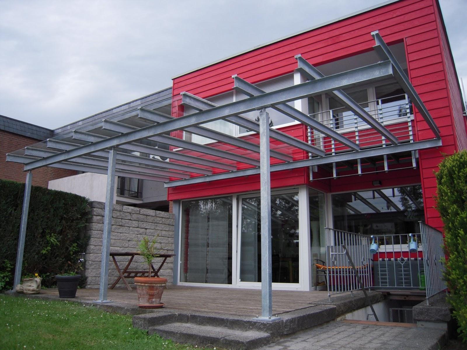 terrassendach stahl glas fr bel metallbau. Black Bedroom Furniture Sets. Home Design Ideas