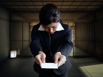 Người Nhật rất coi trọng thẻ card trong kinh doanh