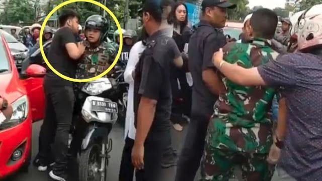 Terungkap! Ternyata Ini Sosok Pengemudi Mobil yang Berkelahi dengan Anggota TNI