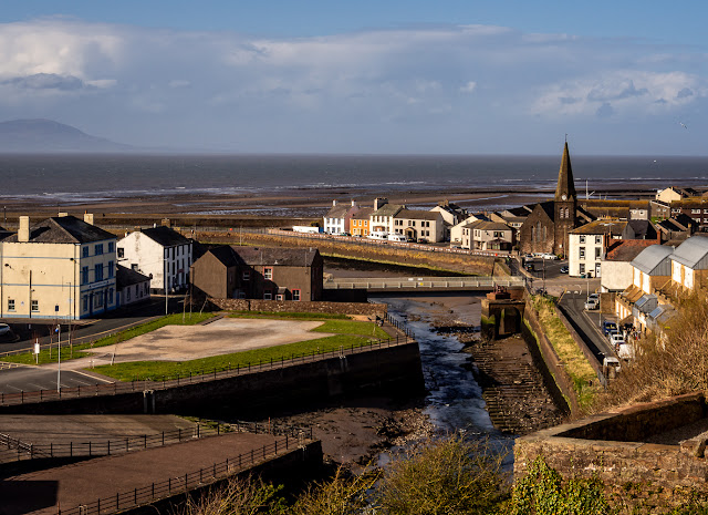 Photo of Maryport and the River Ellen from Mote Hill