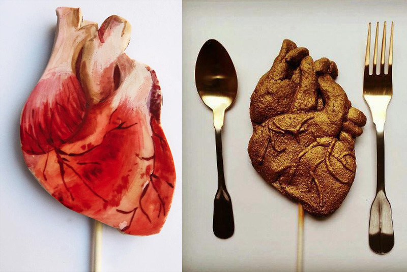 Heart Cakes and Cookies by Nevie-Pie Collins