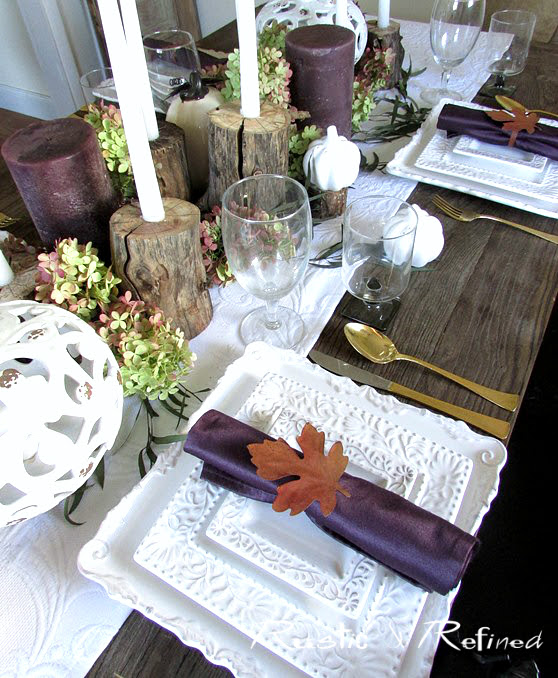 Over 25 Fall Tablescapes for your dining inspiration.