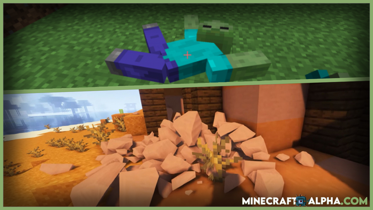 Minecraft Realistic Physics Mod For 1.17.1/1.16.5