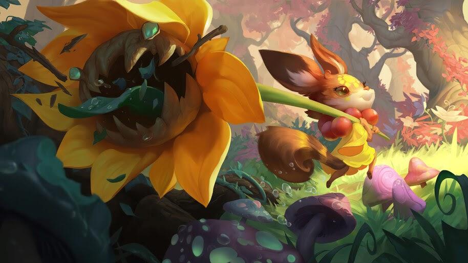 Flower Child, Ionia, Legends of Runeterra, 4K, #5.2696