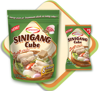 The Sour-Savory Goodness Of The New AJI-SINIGANG® Cube