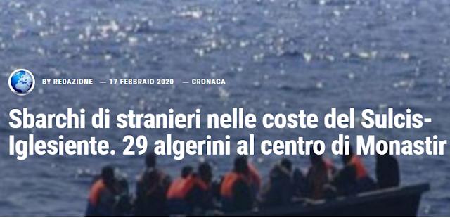 إيطاليا، إيقاف 29 مهاجرا جزائريا غير قانوني فور وصولهم إلى سردينيا