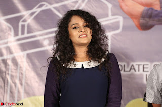 Star Cast of the movie Chinni Chinni Asalu Nalo Regene at its Trailer Launc Exclusive ~  09.JPG