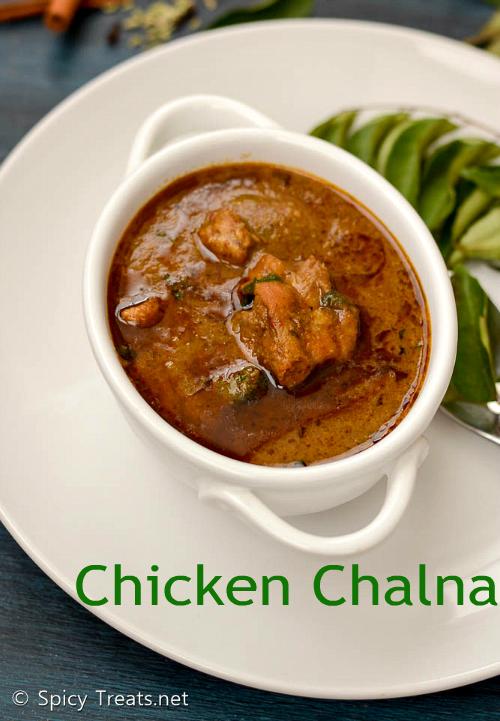 Chicken Chalna