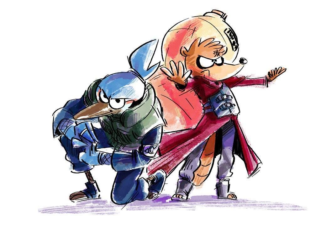 Cartoon Shippuden| Quando personagens do Cartoon Network se fantasiam de Naruto Shipuuden