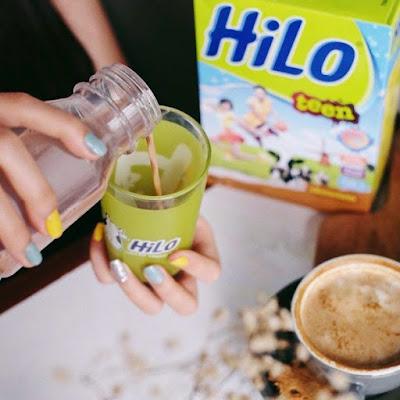 Minum Susu HiLo Teen / Active Sekali Sehari (Sesuai Umur Pertumbuhan)