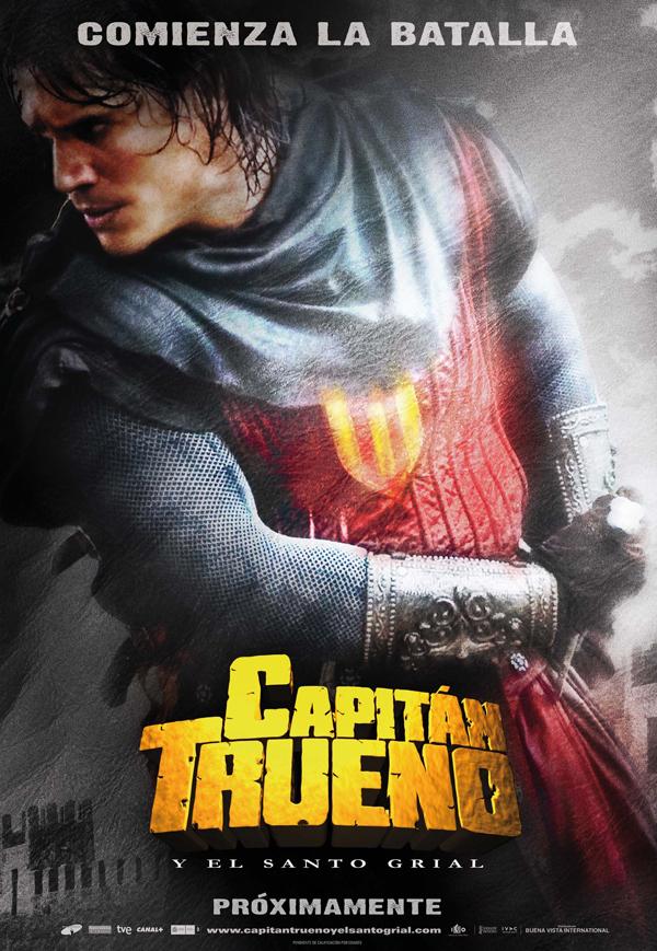 Cartel de El capitán Trueno y el Santo Grial