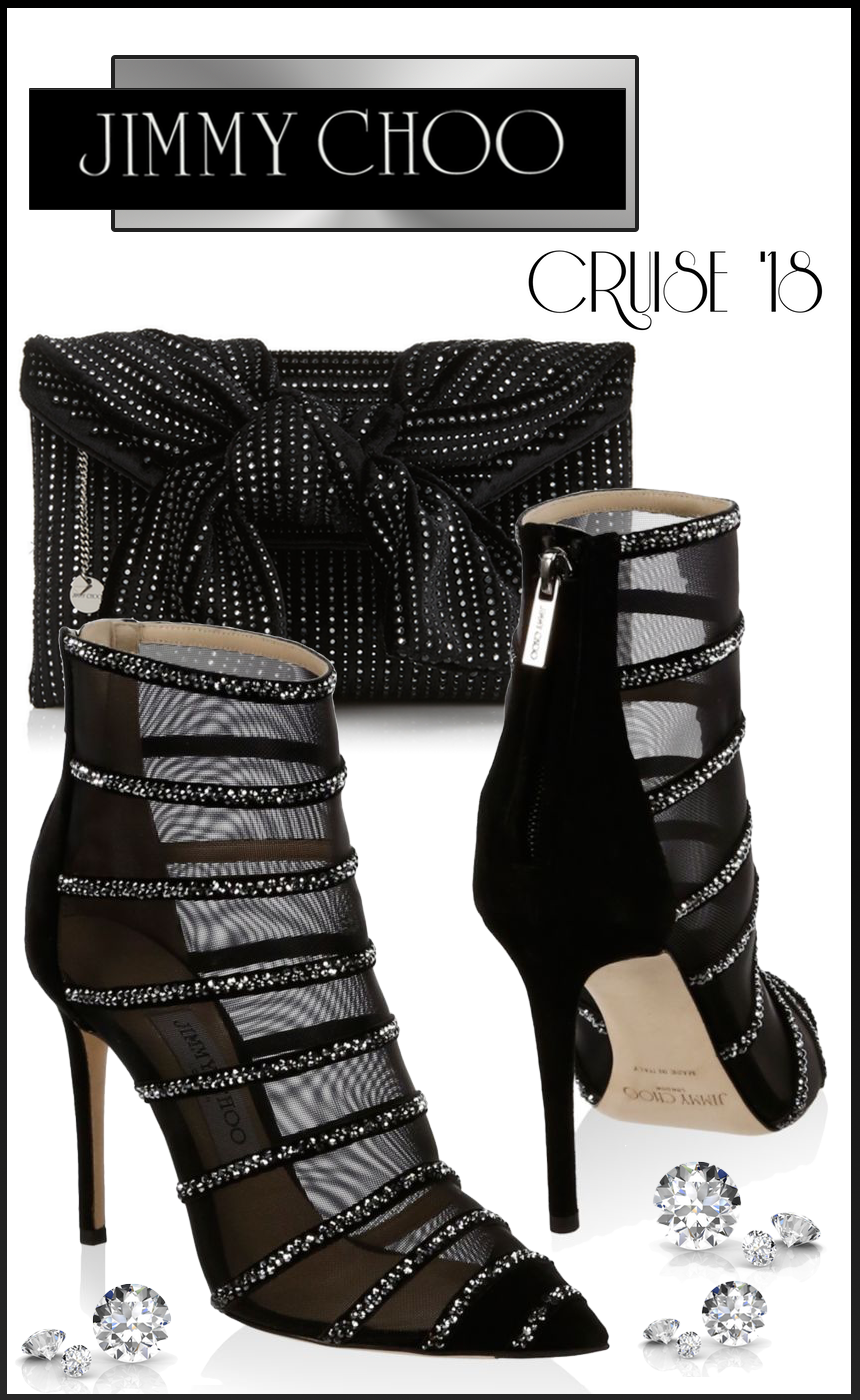 Jimmy Choo Belle 100 Booties