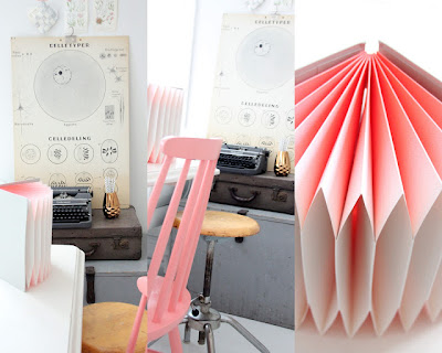 spray+painted+chair+Kasparas+Regnbue+Pastel+Interior+Inspiration Pastel Interior Workspace and Home Office Inspiration from Kasparas Regnbue