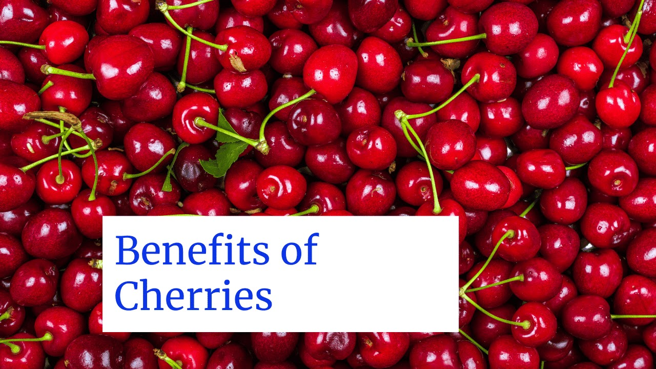 Health Benefits of Cherries May Be Related to Antioxidant-Based Resveratrol
