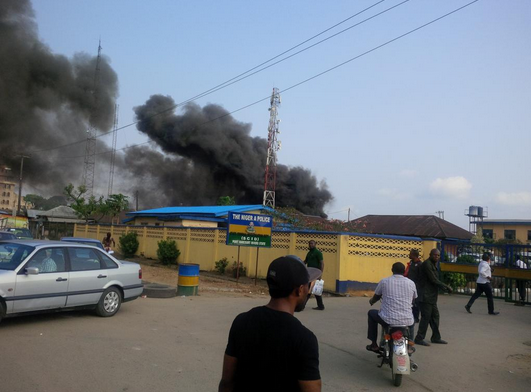 Explosion At Police HQ In Port Harcourt