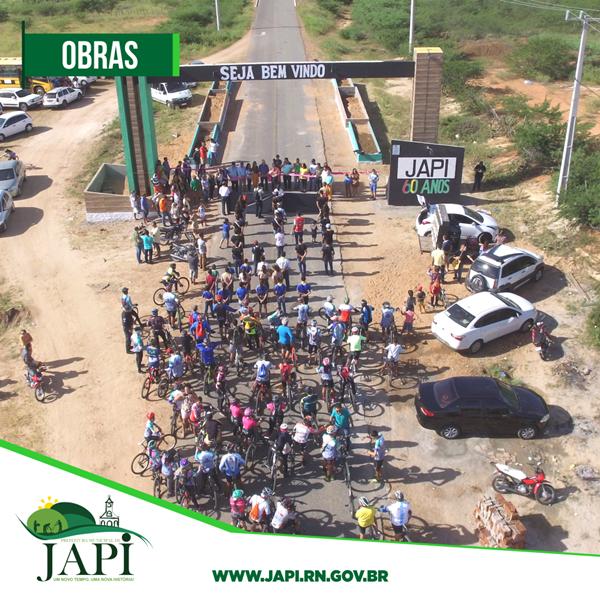 Prefeitura de Japi inaugura pórtico na entrada da cidade
