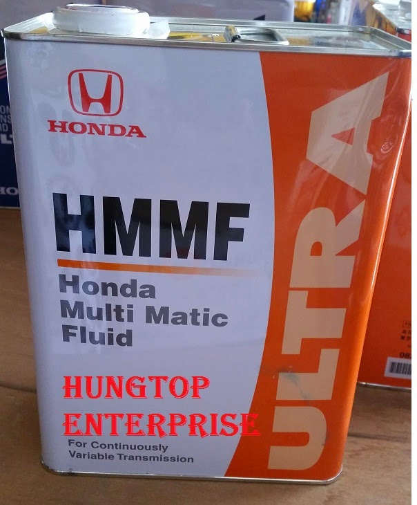 Special Fluid For Transmission Of Hmm Honda Multi Matic Compared With Atf Z1 Features That It Meets The System