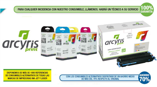 consumible alternativo arcyris