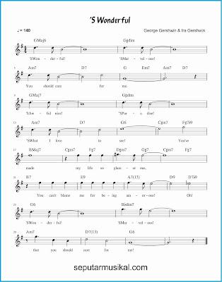 's wonderful lagu jazz standar