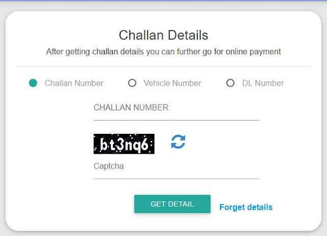 traffic police online challan payment