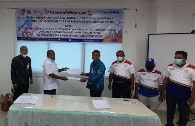 Isak Wopari Ungkap Tujuan Bank Papua Terbitkan ATM Berlogo PON XX 2021