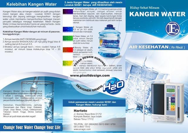 Iklan Minuman Kesehatan Kangen Water